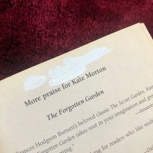 Other - The Forgotten Garden by Kate Morton.